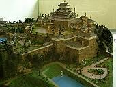 姫路城の模型